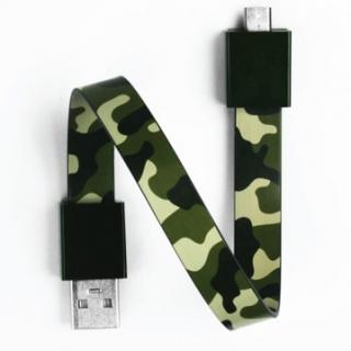 Mohzy Loop USB Cable-Army (Micro USB)