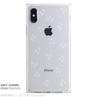 iPhone XS/X ケース EYLE TILE SOFT スクエア型TPUケース CHERRY iPhone XS/X【7月下旬】