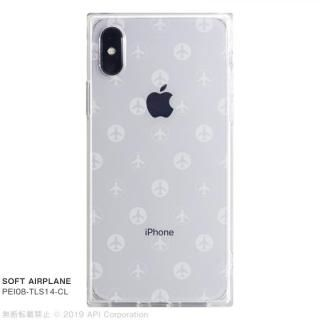 85708b7cdd iPhone XS/X ケース EYLE TILE SOFT スクエア型TPUケース AIRPLANE iPhone XS/