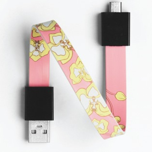 Mohzy Loop USB Cable-Orchid (Micro USB)_0