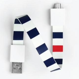 Mohzy Loop USB Cable-navy bold (MicroUSB)