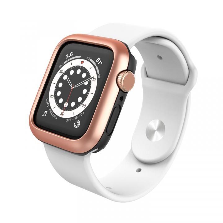 Apple Watch 40mm用 デュアルレイヤーケース AMY ローズゴールド_0