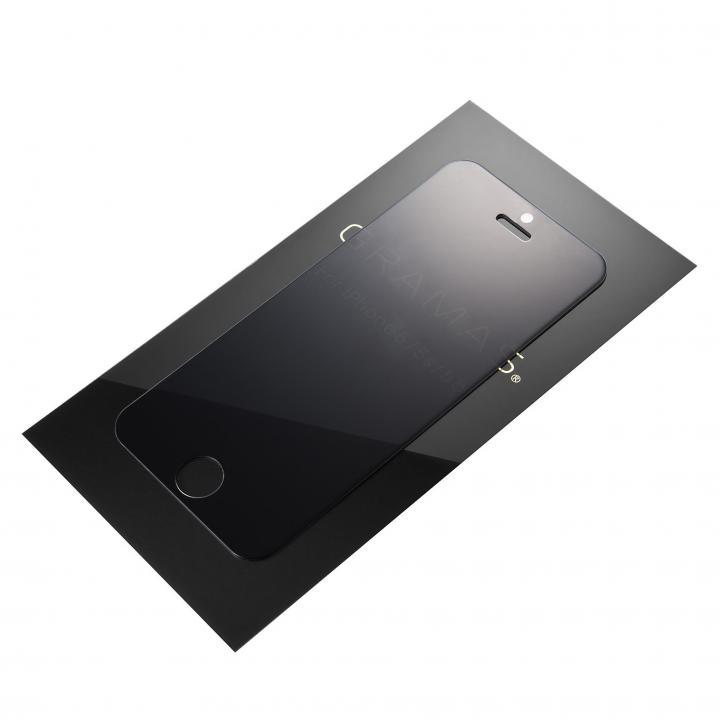 [0.33mm] GRAMAS EXTRA 360°覗き見防止強化ガラス iPhone SE/5s/5c/5
