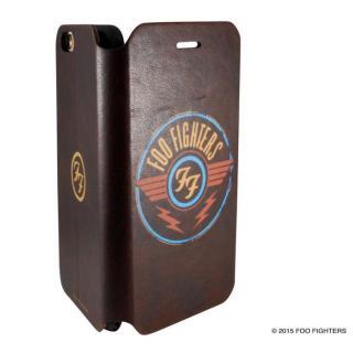 【7月中旬】Rock Spirit FOO FIGHTERS PUレザー手帳型ケース バンドロゴ iPhone 6