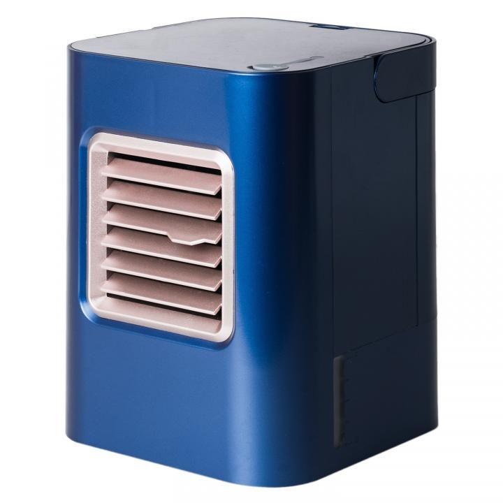デスクで使えるUSB冷風扇 USF-12 ネイビー_0