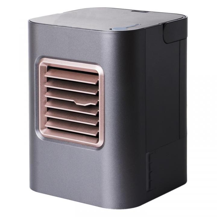 デスクで使えるUSB冷風扇 USF-12 ブラック_0