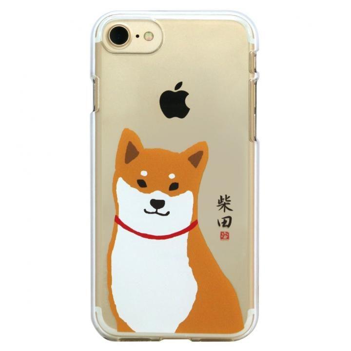 iPhone8/7 ケース しばたさんクリアケース おすわり iPhone 8/7_0