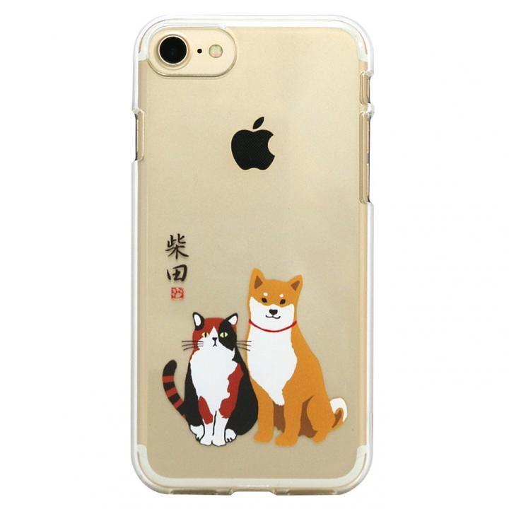 iPhone8/7 ケース しばたさんクリアケース しばみやコンビ iPhone 8/7_0
