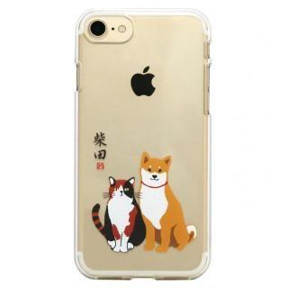 【iPhone8 ケース】しばたさんクリアケース しばみやコンビ iPhone 8/7【7月下旬】