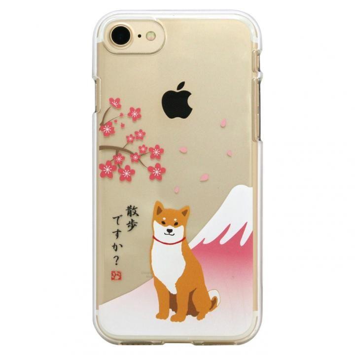 iPhone8/7 ケース しばたさんクリアケース さくら iPhone 8/7_0