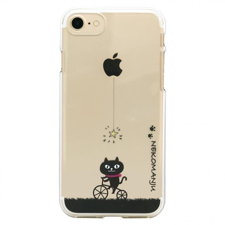 iPhone8/7 ケース ネコマンジュウクリアケース サイクリング iPhone 8/7_0