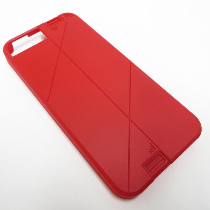 iPhone SE/5s/5 ケース WiFi高速化 LINKASE PRO スペシャルカラーバージョン レッド iPhone SE/5s/5ケース_0