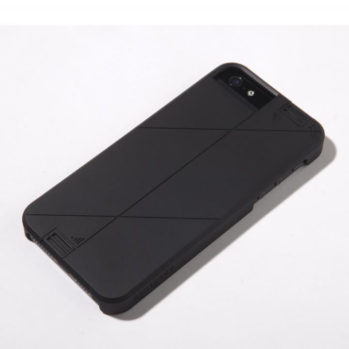 LINKASE PRO WiFi高速化ケース ブラック iPhone SE/5s/5
