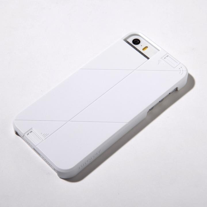 iPhone SE/5s/5 ケース WiFi高速化でネットがサクサク LINKASE PRO ホワイト iPhone SE/5s/5ケース_0