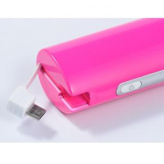 [2600mAh]IC-Candy iPhone5s/5c/5 バッテリー ピンク_1