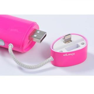 [2600mAh]IC-Candy iPhone5s/5c/5 バッテリー ピンク_3