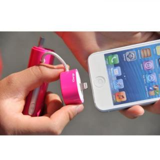 [2600mAh]IC-Candy iPhone5s/5c/5 バッテリー ピンク_6