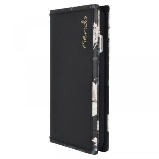 iPhone SE 第2世代 ケース rienda スクエア手帳型ケース Grace Flower/ブラック iPhone SE 第2世代/8/7/6s/6