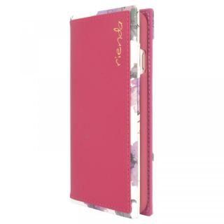 iPhone SE 第2世代 ケース rienda スクエア手帳型ケース Parm Flower/ピンク iPhone SE 第2世代/8/7/6s/6