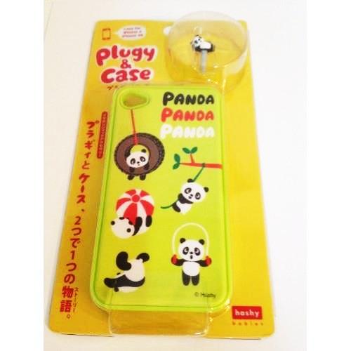 プラギィ&ケース(パンダ公園) iPhone 4s/4ケース