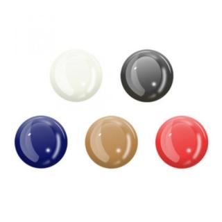 5ピース 蓄光ホームボタンシール (ホワイト ブラック ブルー ブロンズ レッド)