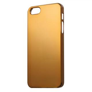【iPhone SE/5s/5ケース】iPhone SE/5s/5用レインボーカラーセルフリペアコーティングケース オレンジ
