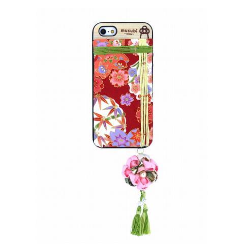 made in 京都「musubi」:kaori for iPhone SE/5s/5 てふてふ
