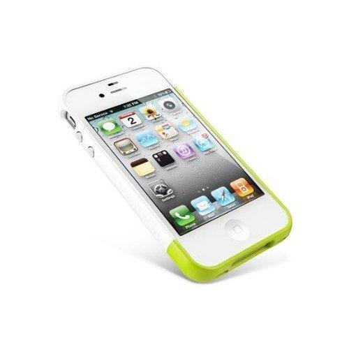 Spigen Case Linear EX Meteor Series ライム iPhone4/4sケース_0