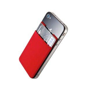 iPhone SE/5s/5 ケース ステッカーブルポケット SINJIPOUCH(レッド)_0