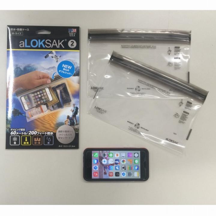 iPhone6 ケース aLOKSAK 防水マルチケース Mサイズ_0