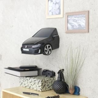 VWゴルフ GTI A7 3Dデコライト ブラック