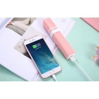 [2600mAh]モバイルバッテリー付き扇風機 MiniFan ピンク_3