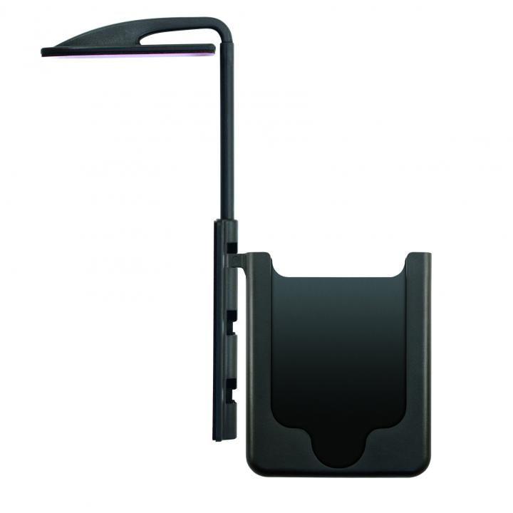 [2017夏フェス特価]モニター取り付け型ホルダー iPhone SE/5s/5 ブラック