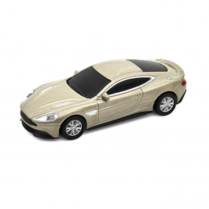 Aston Marten Vanquish USBメモリー ゴールド_0