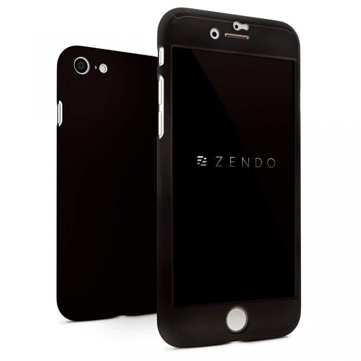 iPhone7 ケース NanoSkin ナノスキン フルカバーケース ブラック iPhone 7_0