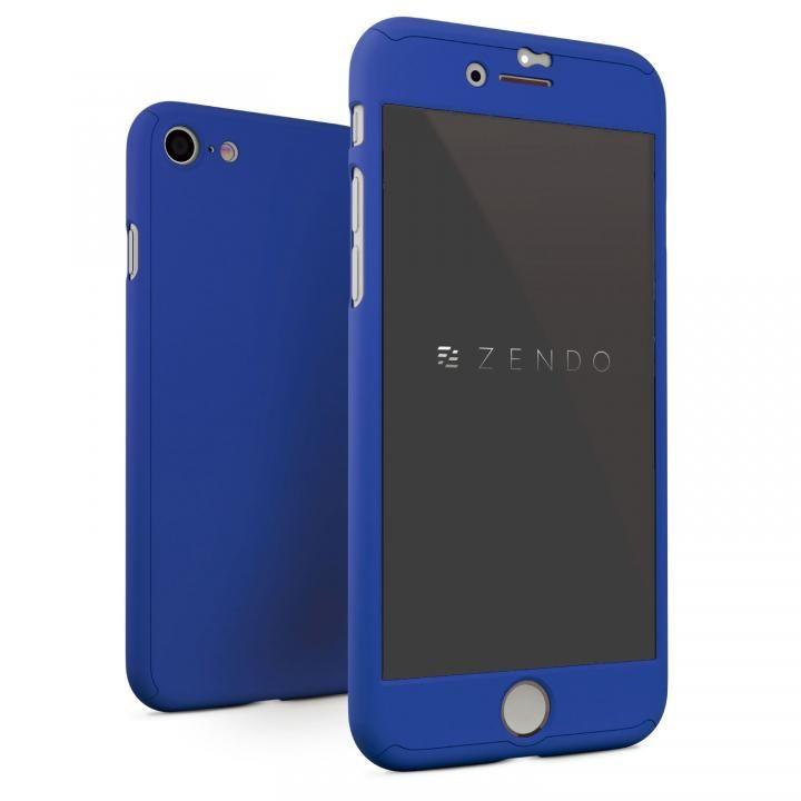 【iPhone7ケース】NanoSkin ナノスキン フルカバーケース ブルー iPhone 7_0