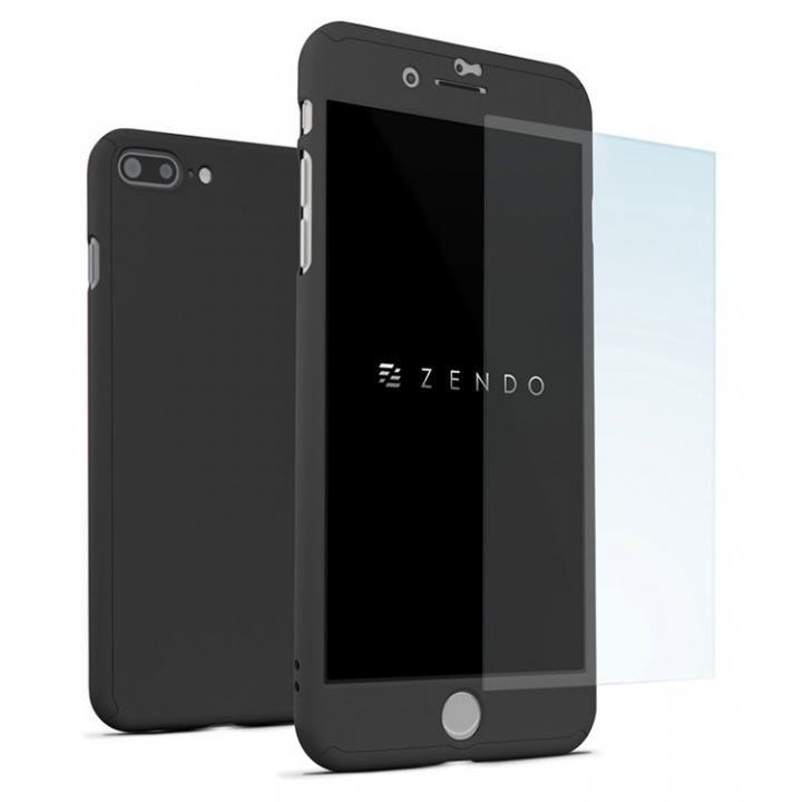 iPhone7 Plus ケース NanoSkin ナノスキン フルカバーケース ブラック iPhone 7 Plus_0