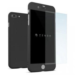 NanoSkin ナノスキン フルカバーケース ブラック iPhone 7 Plus【7月下旬】