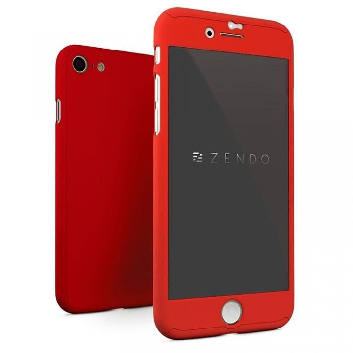iPhone7 ケース NanoSkin ナノスキン フルカバーケース レッド iPhone 7_0