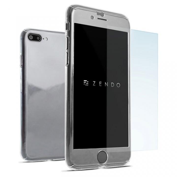 NanoSkin ナノスキン フルカバーケース クリア iPhone 7 Plus