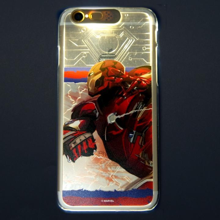 iPhone6s/6 ケース CIVIL WAR 光るハードケース IRONMAN iPhone 6s/6_0