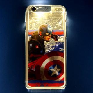 CIVIL WAR 光るハードケース CAPTAIN AMERICA iPhone 6s Plus/6 Plus