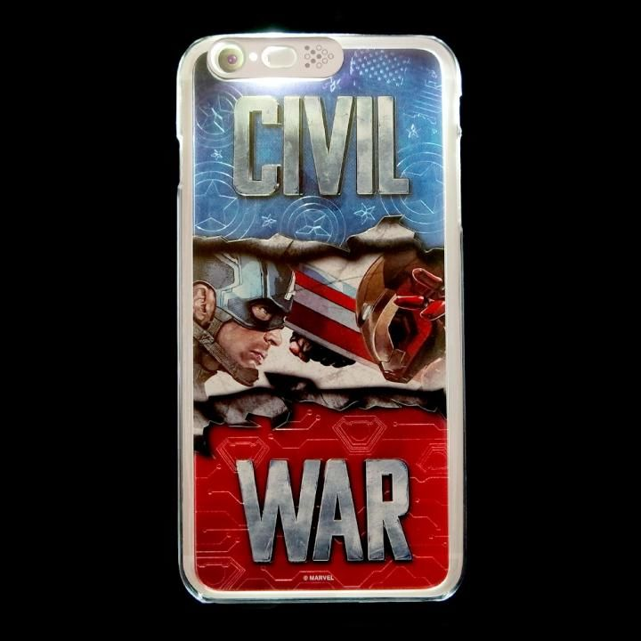 【iPhone6s Plus/6 Plusケース】CIVIL WAR 光るハードケース Civil War iPhone 6s Plus/6 Plus_0