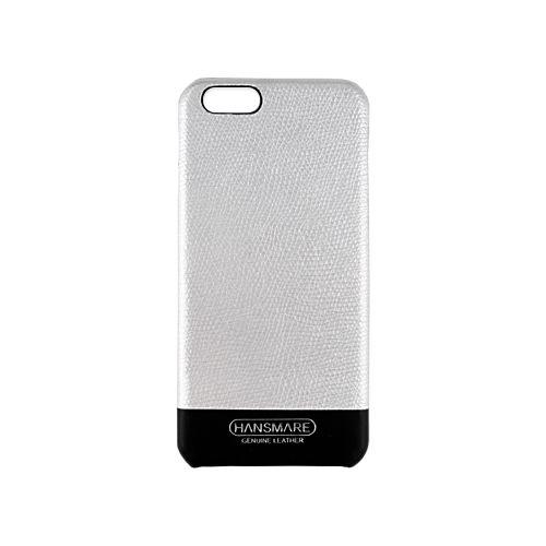 【iPhone6s/6ケース】iPhone 6s/6 LEATHER SKIN CASE Ⅱ シルバー_0
