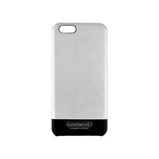 [2017夏フェス特価]iPhone 6s/6 LEATHER SKIN CASE Ⅱ シルバー