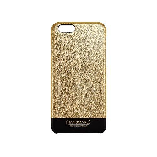 [8月特価]iPhone 6s/6 LEATHER SKIN CASE Ⅱ ゴールド