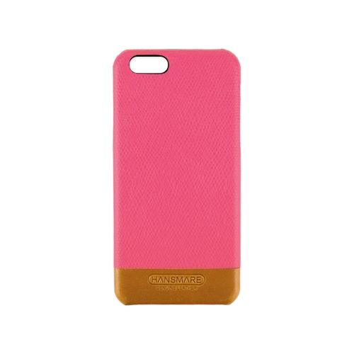 【iPhone6s/6ケース】iPhone 6s/6 LEATHER SKIN CASE Ⅱ ピンク_0
