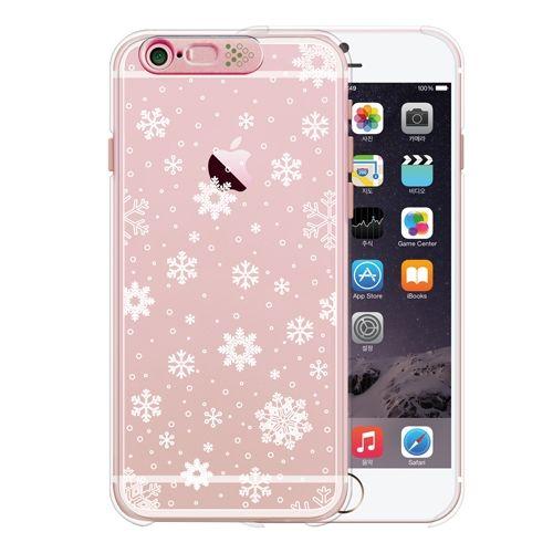 iPhone6s/6 ケース Clear Season2 Snow (Rose Gold)_0
