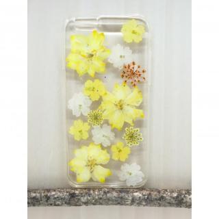 [2017夏フェス特価]Floral Happiness 押し花スマホケース iPhone6/6s 115