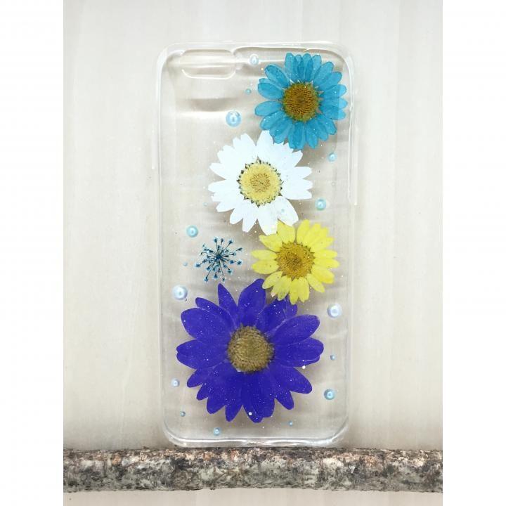【iPhone6s Plus/6 Plusケース】Floral Happiness 押し花スマホケース iPhone6/6s Plus 219_0
